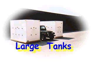 large poly tanks