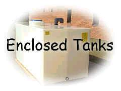 enclosed plastic tanks